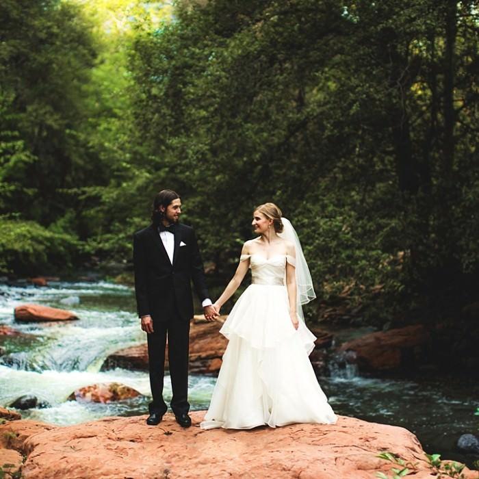 Rachel and Derek: A Quaint Sedona Wedding
