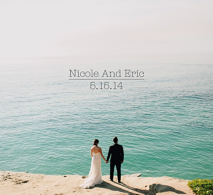 Nicole and Eric: A La Jolla Beach Wedding