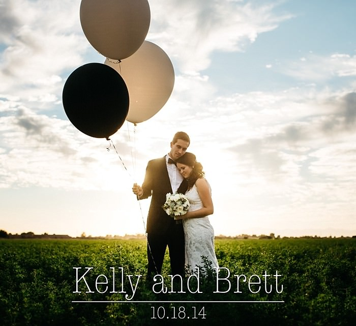 Kelly and Brett: A Classic Backyard Farm Wedding