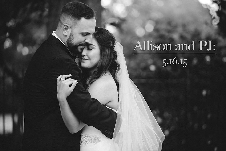 Allison and PJ: A San Fransisco Garden Wedding