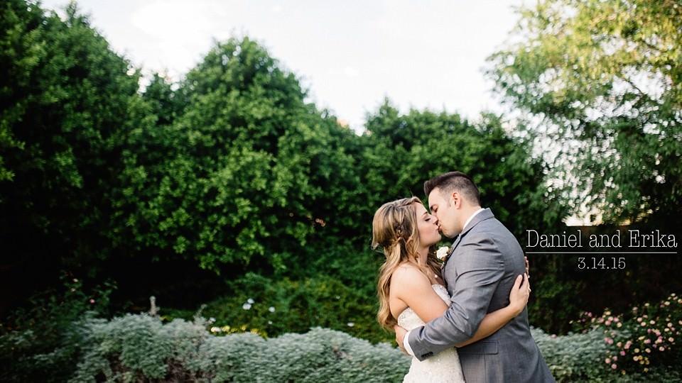 Daniel and Erika: A Joy-filled Garden Wedding