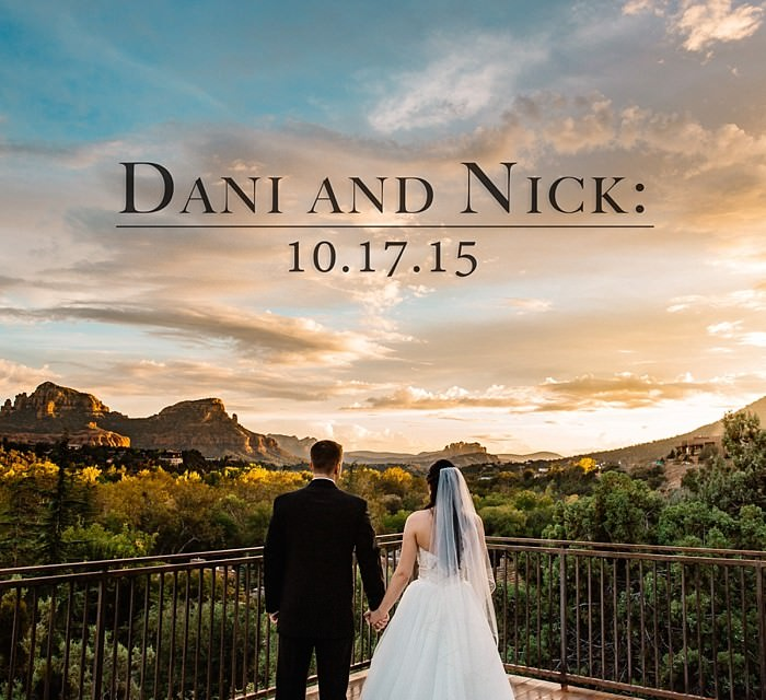 Dani and Nick: A Sedona Creekside Wedding