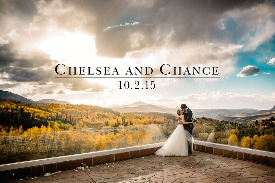Chelsea and Chance: A Fall Wedding in Telluride