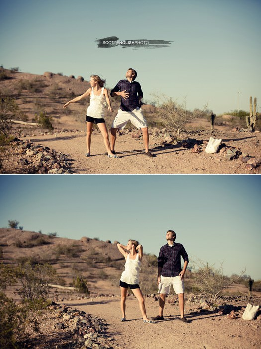 Amy and Scott