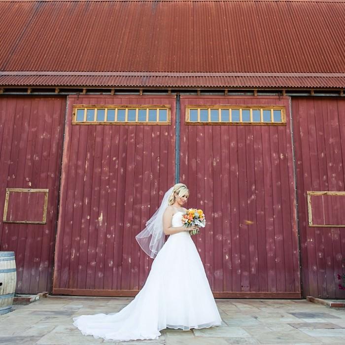 Nicole and Joe: A Florence BIG RED BARN wedding.