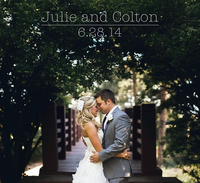 Julie and Colton: A Castle Pines Wedding