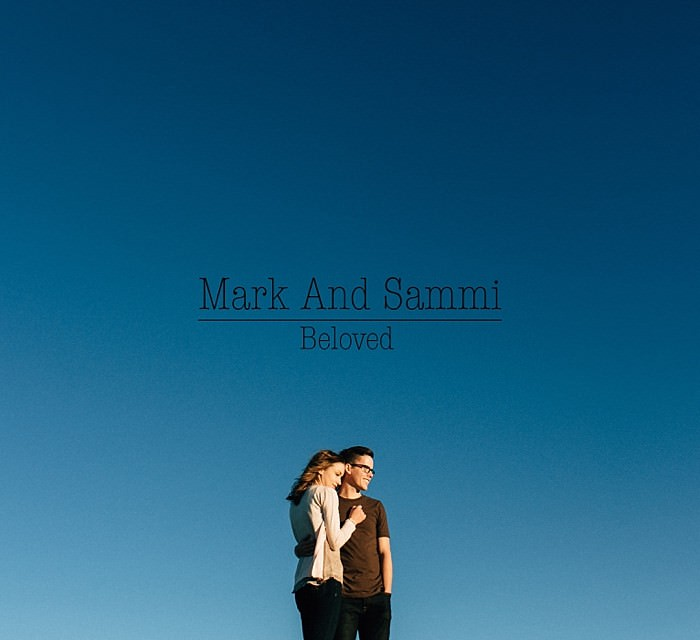 Mark and Sammi : A Wildflower and Aspen filled Beloved Engagement Session