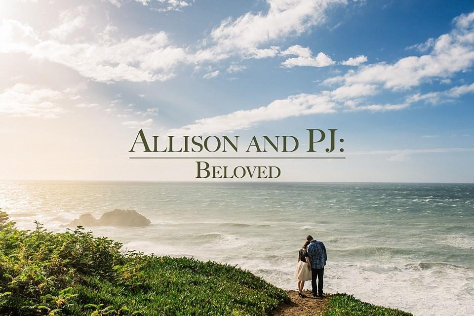 Allison And PJ: Beloved Engagement in San Fransisco