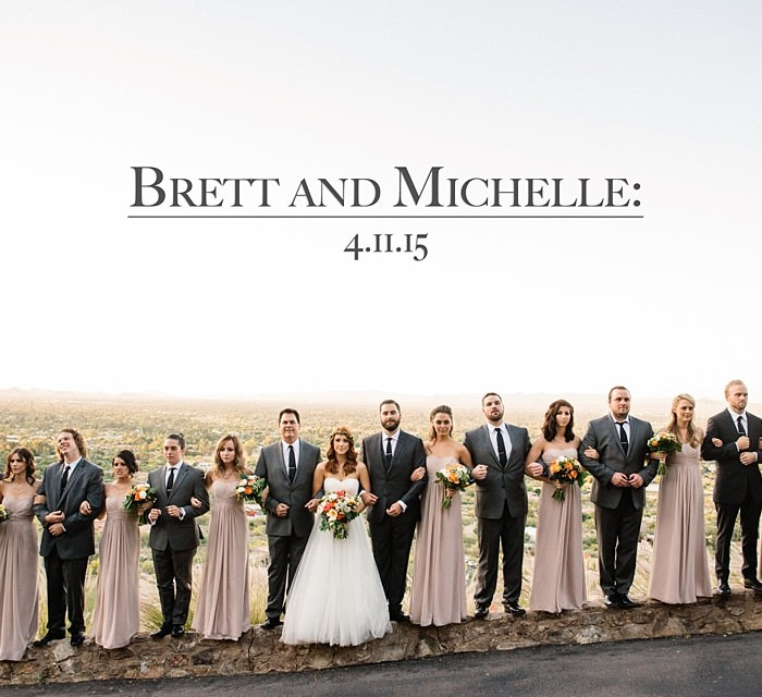 Brett and Michelle: A Mountainside Wedding