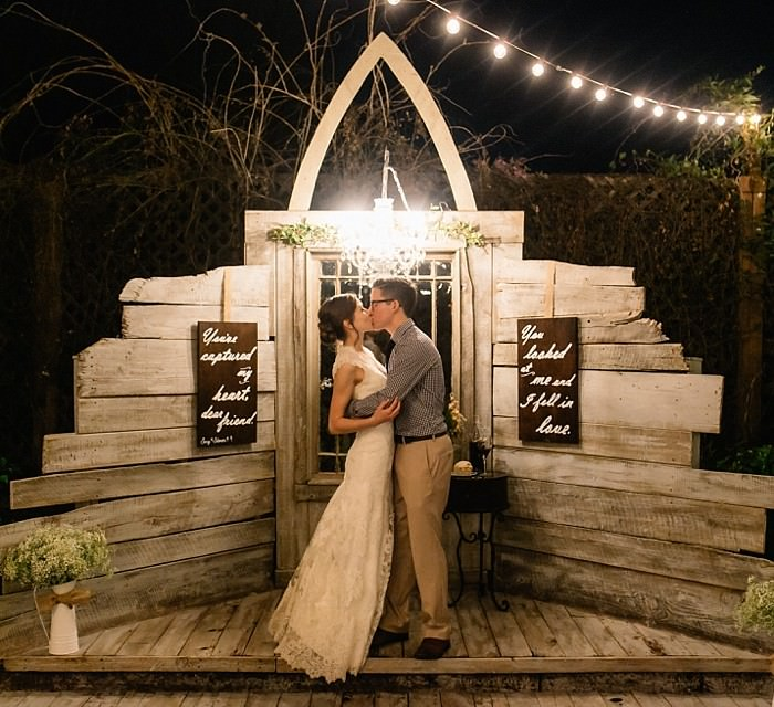 Mark and Sammi: The Elegant Barn