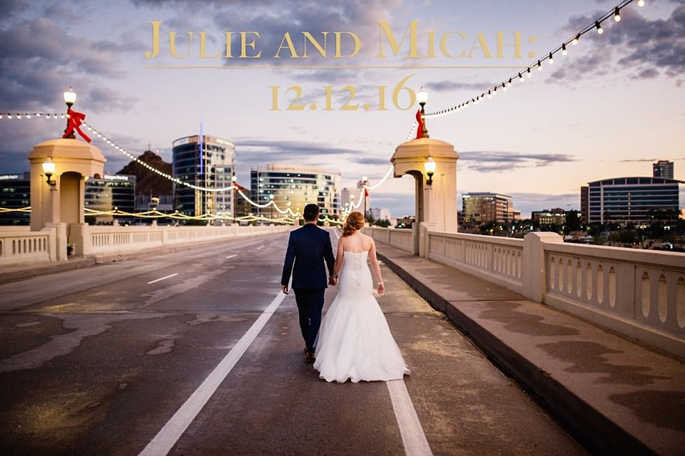 Julie and Micah: A Tempe Winter Wedding