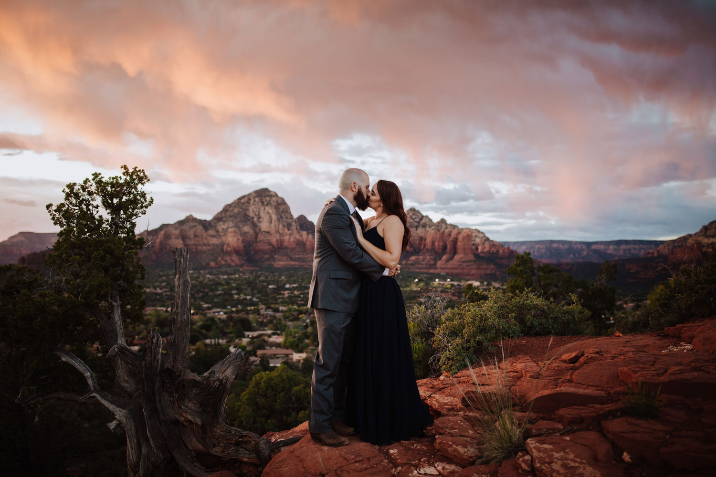 Arizona Sunset Engagement inspo